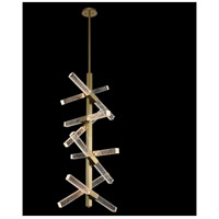 Apollo LED 22 inch Brushed Champagne Gold Foyer Ceiling Light