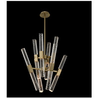 Allegri 034970-038-FR001 Apollo LED 26 inch Brushed Champagne Gold Chandelier Ceiling Light