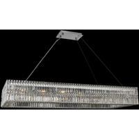 Allegri 035061-010-FR001 Rettangolo 18 Light 60 inch Chrome Island Light Ceiling Light