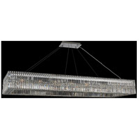 Allegri 035062-010-FR001 Rettangolo 20 Light 72 inch Chrome Island Light Ceiling Light