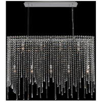 Allegri 035160-010-FR001 Gocce 9 Light 42 inch Chrome Island Light Ceiling Light