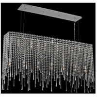 Allegri 035161-010-FR001 Gocce 13 Light 56 inch Chrome Island Light Ceiling Light
