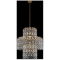 Allegri 035951-003-FR001 Caretta 12 Light 27 inch Antique Brass Pendant Ceiling Light