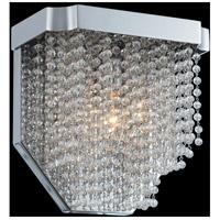 Allegri 036020-010-FR001 Tenda 1 Light 9 inch Chrome Wall Sconce Wall Light