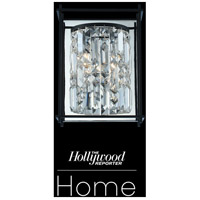 Allegri 036120-052-FR001 Joni 1 Light 9 inch Matte Black Wall Sconce Wall Light