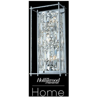 Allegri 036121-010-FR001 Joni 3 Light 9 inch Chrome Wall Sconce Wall Light