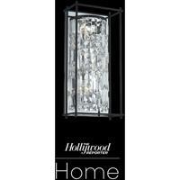 Allegri 036121-052-FR001 Joni 3 Light 9 inch Matte Black Wall Sconce Wall Light