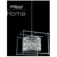 Allegri 036153-010-FR001 Joni 8 Light 34 inch Chrome Pendant Ceiling Light photo thumbnail