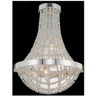 Allegri 036421-014-FR001 Felicity 2 Light 13 inch Polished Silver Wall Sconce Wall Light