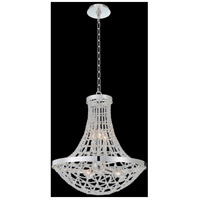 Allegri 036455-014-FR001 Felicity 6 Light 20 inch Polished Silver Pendant Ceiling Light
