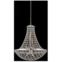 Allegri 036456-014-FR001 Felicity 9 Light 26 inch Polished Silver Pendant Ceiling Light