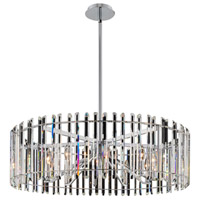 Allegri 036858-010-FR001 Viano 10 Light 35 inch Polished Chrome Pendant Ceiling Light