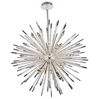 Allegri 037458-014-FR001 Sprazzo 36 Light 48 inch Polished Silver Pendant Ceiling Light