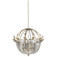 Allegri 037773-038-FR001 Pendolo 18 Light 44 inch Brushed Champagne Gold Chandelier Ceiling Light