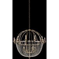 Allegri 037773-038-FR001 Pendolo 18 Light 44 inch Brushed Champagne Gold Chandelier Ceiling Light