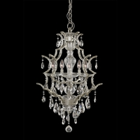 Allegri 090071-040-FR001 Shorecrest 5 Light 21 inch Sliver Dollar Hanging Lantern Ceiling Light