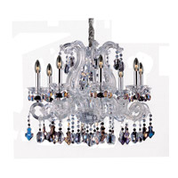 Lorraine 8 Light 28 inch Chrome Chandelier Ceiling Light