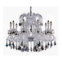 Lorraine 10 Light 34 inch Chrome Chandelier Ceiling Light