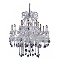 Lorraine 18 Light 38 inch Chrome Chandelier Ceiling Light