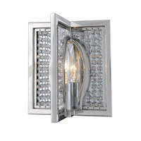 Rockefeller 1 Light 8 inch Chrome Wall Bracket Wall Light