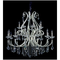 Allegri Bedetti 21 Light Chandelier in Two-tone Silver with Firenze Clear Crystals 10167-017-FR001