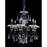 Allegri Praetorius 6 Light Chandelier in Sienna Bronze with Firenze Clear Crystals 10217-013-FR001 photo thumbnail