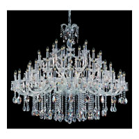 Allegri Giordano 60 Light Chandelier in Chrome with Firenze Mixed Crystals 10234-010-FR000 photo thumbnail