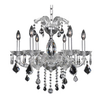 Allegri Giordano 6 Light Chandelier in Chrome 10236-010-FR001