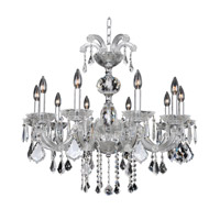 Giordano 10 Light 30 inch Chrome Chandelier Ceiling Light