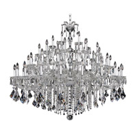 Allegri Giordano 60 Light Chandelier in Chrome with Firenze Clear Crystals 10239-010-FR001