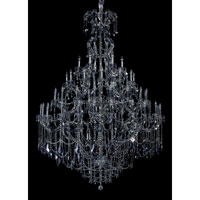 Allegri Brahms 66 Light Chandelier in Chrome with Firenze Smoke Fleet Argentine Crystals 10319-010-FR006