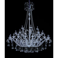 Allegri Torelli 36 Light Chandelier in Chrome with Firenze Clear Crystals 10339-010-FR001