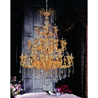 Allegri Legrenzi 48 Light Chandelier in Two-tone Gold/24K with Firenze Clear Crystals 10456-016-FR001