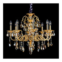Allegri Vivaldi 8 Light Chandelier in Two-tone Gold/24K with Swarovski Elements Mixed Crystals 10684-016-SE000 photo thumbnail