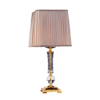 Portables 29 inch 40 watt 24K Gold Table Lamp Portable Light