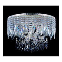 Allegri Gabrieli 8 Light Flush Mount in Two-tone Silver with Firenze Mixed Crystals 10817-017-FR000 photo thumbnail