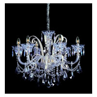 Allegri Pachelbel 6 Light Chandelier in Two-tone Silver with Firenze Mixed Crystals 10966-017-FR000 photo thumbnail