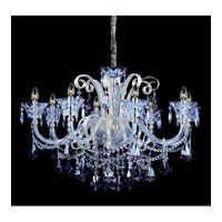 Allegri Pachelbel 8 Light Chandelier in Two-tone Silver with Firenze Mixed Crystals 10967-017-FR000 photo thumbnail