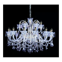 Allegri Pachelbel 18 Light Chandelier in Two-tone Silver with Firenze Mixed Crystals 10969-017-FR000