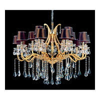 Allegri Stand Alone 16 Light Chandelier in Two-tone Gold/24K with Firenze Clear Crystals 11039-016-FR001-SA126