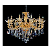 Allegri Mendelssohn 12 Light Chandelier in Two-tone Gold/24K with Firenze Mixed Crystals 11095-016-FR000