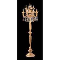Allegri Mendelssohn 12 Light Floor Lamp in Two-tone Gold/24K with Firenze Mixed Crystals 11097-016-FR000