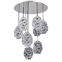 Allegri 11108-010-FR000 Veronese 9 Light 26 inch Chrome Pendant Ceiling Light