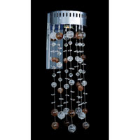 Rubens 1 Light Chrome Wall Bracket Wall Light