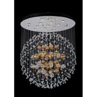 Allegri 11168-010-FR001 Velazquez 13 Light 39 inch Chrome Flush Mount Ceiling Light