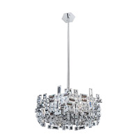 Vermeer 6 Light 24 inch Chrome Pendant Ceiling Light