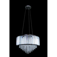 Allegri Adaliz 4 Light Pendant in Sienna Bronze with Swarovski Elements Clear Crystals 11237-013-SE001 photo thumbnail