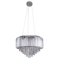 Adaliz 4 Light 18 inch Chrome Pendant Ceiling Light in Firenze Clear