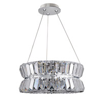 Allegri 11275-010-FR001 Armanno 3 Light 16 inch Chrome Pendant Ceiling Light