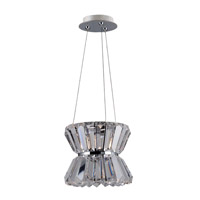 Armanno 1 Light 8 inch Chrome Mini Pendant Ceiling Light